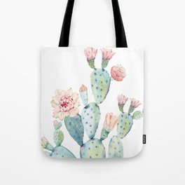 Cactus 2  White #society6 #buyart Tote Bag