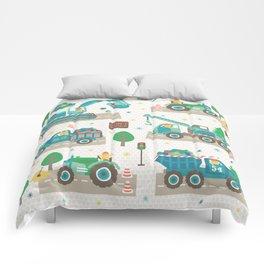 Truck monsters Comforters