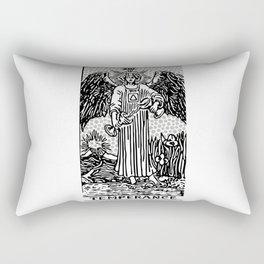 Modern Tarot Design - 14 Temperance Rectangular Pillow