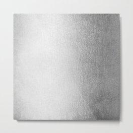 Moonlight Silver Metal Print