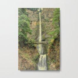 MULTNOMAH FALLS - OREGON Metal Print