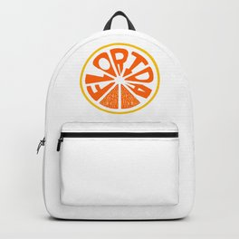Florida Orange Backpack