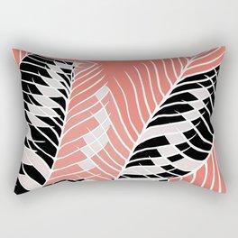 Twister Palm Riddle Rectangular Pillow