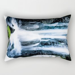 Early Spring Waterfall Rectangular Pillow