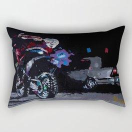 Night Rider Rectangular Pillow