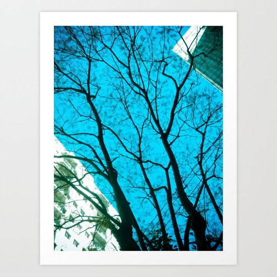 Tree in the Sky Art Print
