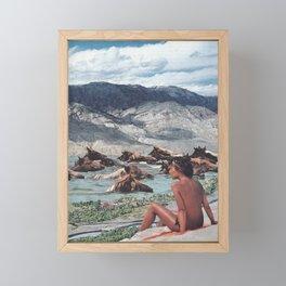 Flood Framed Mini Art Print
