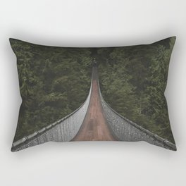Capilano Suspension Bridge Rectangular Pillow
