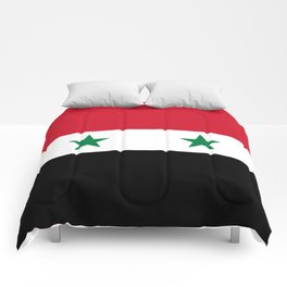 National flag of Syria Comforters