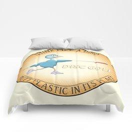 Think Like A Bird Comforters