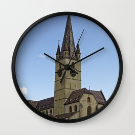 Evangelicha Cathedral Sibiu Romania Wall Clock