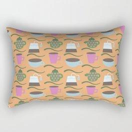 Teatime Print Rectangular Pillow