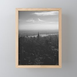 Empire State Building 1 Framed Mini Art Print