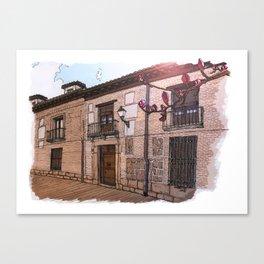 Sweet Home Alcalá Canvas Print