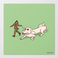 Neverending Dog Show Canvas Print