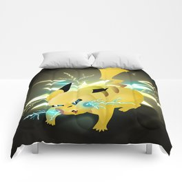 Fan Art Installment 2: Pi-ka-CHU! Comforters