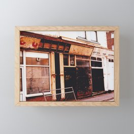 Blackpool - Soft Toys Films Cold Drinks Framed Mini Art Print