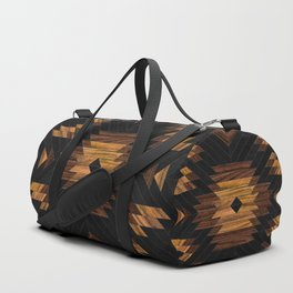 Urban Tribal Pattern No.7 - Aztec - Wood Sporttaschen