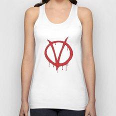 V for Vendetta2 Unisex Tank Top