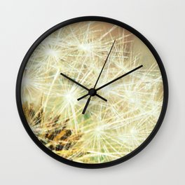 Dandy Macro fine art photography Wall Clock