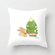 Gift Giving Throw Pillow