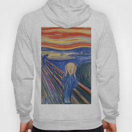 The Scream by Edvard Munch Hoody