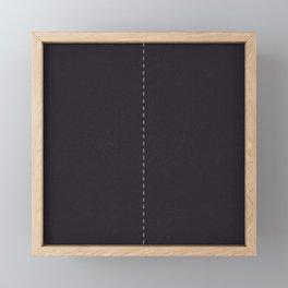 Road Two lanes Framed Mini Art Print