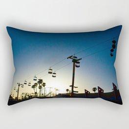 Sunset at the Boardwalk Rectangular Pillow
