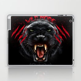 Wild Mode. Bjj, Mma, grappling Laptop & iPad Skin