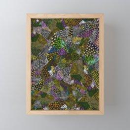 Origami Dots Six Framed Mini Art Print