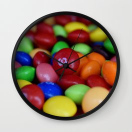 S for Skittles Wall Clock