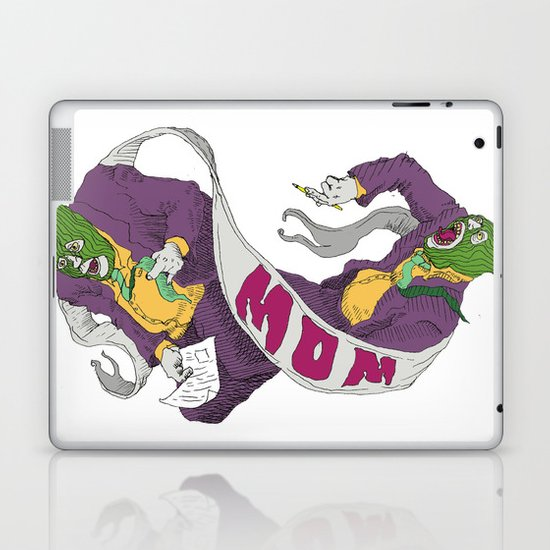 card mom Laptop & iPad Skin
