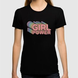 Girl Power grl pwr Retro T-shirt