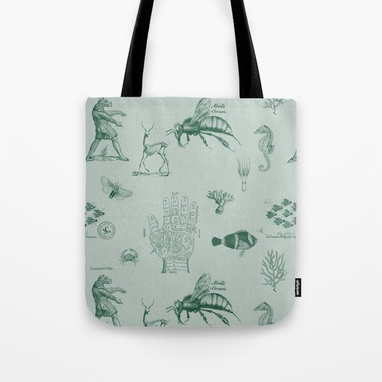 vintage ephemera mint Tote Bag