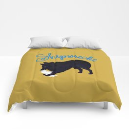 Shipwrecke (Yellow and Blue) Comforters