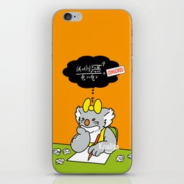 Koalita at school iPhone Skin