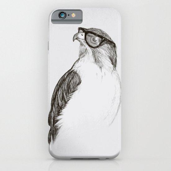 Hawk with Poor Eyesight iPhone & iPod Case