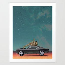 Buy the Ticket Art Print