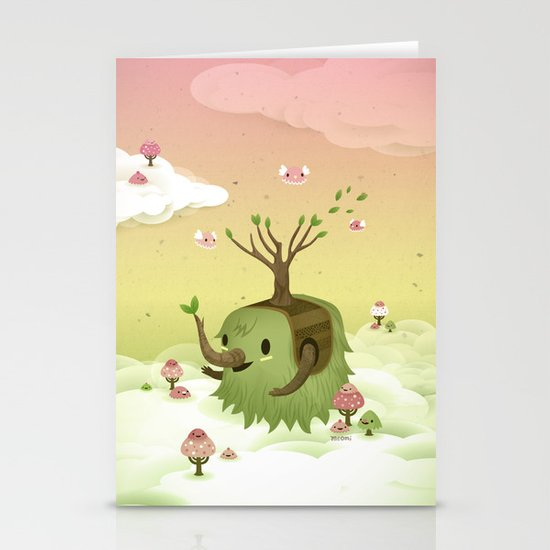 Mossiphants Stationery Cards