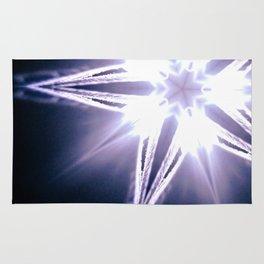 Unintended, Filamentous, Pocket-Star Rug