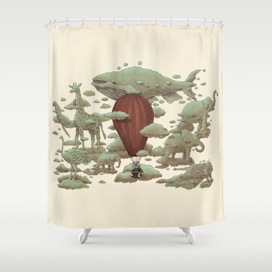 Cloud Watching  Shower Curtain