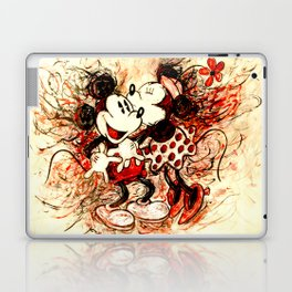 Mickey and Minnie mouse Laptop & iPad Skin