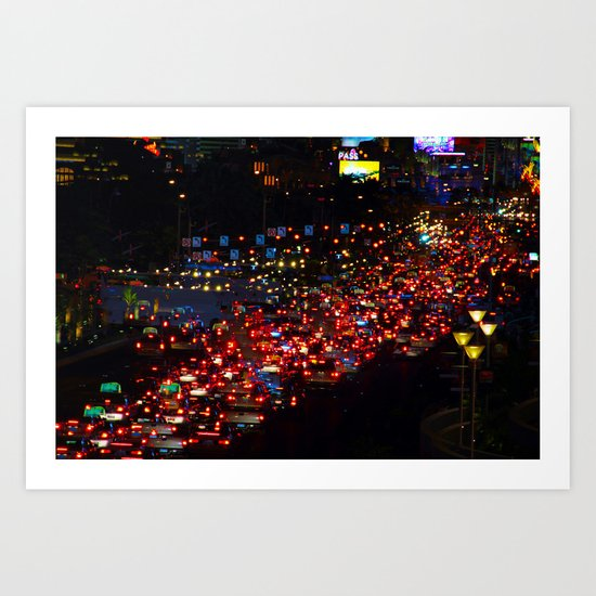 Vegas 5 Art Print