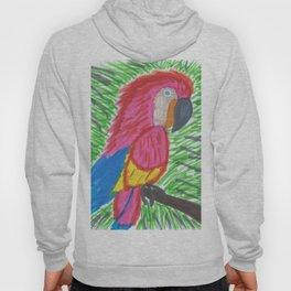 Pink Bird of Paradise Hoody