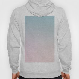 BURNING SKY - Minimal Plain Soft Mood Color Blend Prints Hoody
