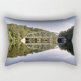 Bridge over the Quinnebaug Rectangular Pillow