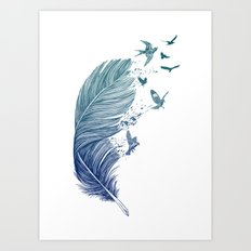 Fly Away Art Print