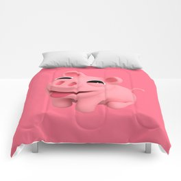Rosa the Pig Happy Comforters