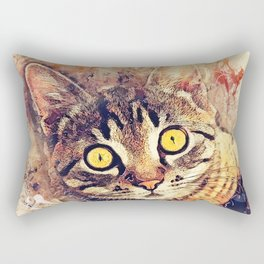 Cat Tigger Rectangular Pillow