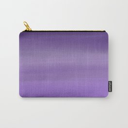 Modern painted purple lavender ombre watercolor Carry-All Pouch